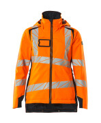 19045-449-14010 Winter Jacket - hi-vis orange/dark navy