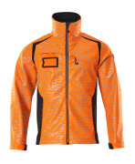 19202-291-14010 Softshell Jacket - hi-vis orange/dark navy