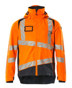 19301-231-14010 Outer Shell Jacket - hi-vis orange/dark navy