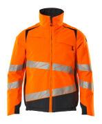 19435-231-14010 Winter Jacket - hi-vis orange/dark navy