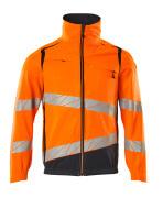 19509-236-14010 Jacket - hi-vis orange/dark navy