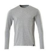 20181-959-08 T-shirt, long-sleeved - grey-flecked