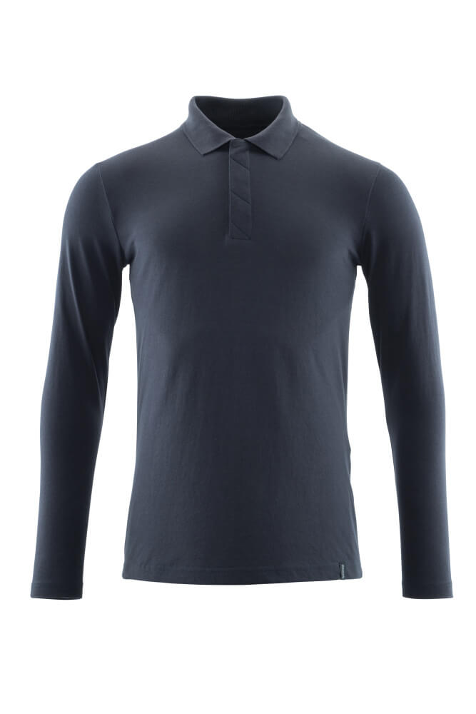 20483-961-010 Polo Shirt, long-sleeved - dark navy