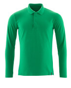 20483-961-333 Polo Shirt, long-sleeved - grass green
