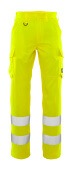 20859-236-17 Trousers with thigh pockets - hi-vis yellow