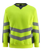 50126-932-14010 Sweatshirt - hi-vis orange/dark navy