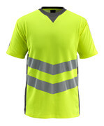 50127-933-1718 T-shirt - hi-vis yellow/dark anthracite