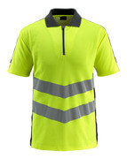 50130-933-1709 Polo shirt - hi-vis yellow/black
