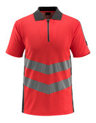 50130-933-22218 Polo shirt - hi-vis red/dark anthracite
