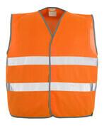 50187-874-14 Traffic Vest - hi-vis orange