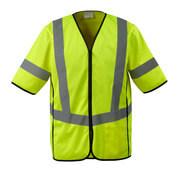 50216-310-17 Traffic Vest - hi-vis yellow