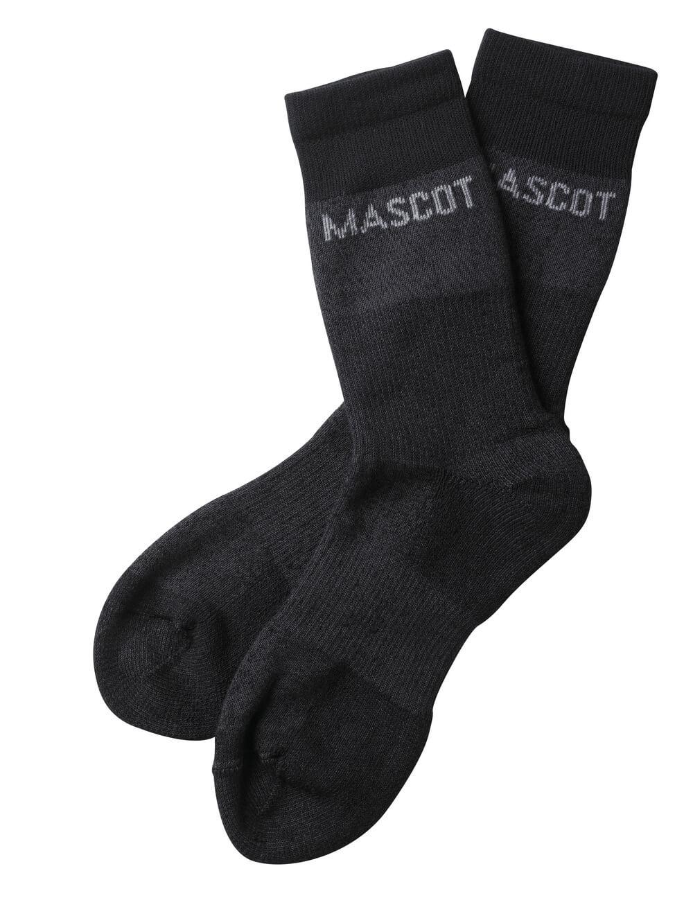 50406-877-A42 Socks - dark anthracite-flecked