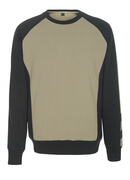 50503-830-5509 Sweatshirt - light khaki/black