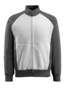 50565-963-1809 Sweatshirt with zipper - dark anthracite/black