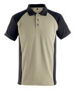 50569-961-5509 Polo Shirt - light khaki/black
