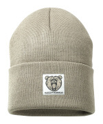 50603-974-55 Knitted Hat - light khaki