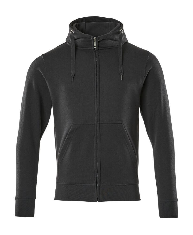 51590-970-010 Hoodie with zipper - dark navy
