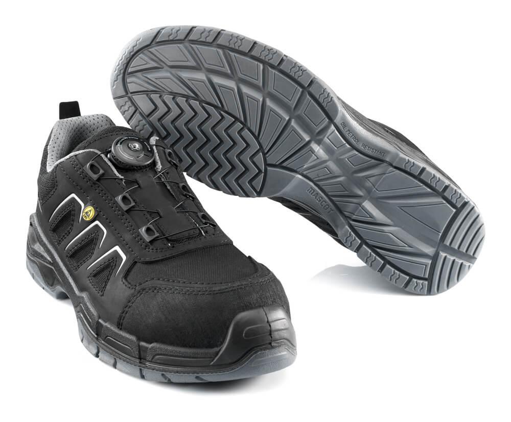 F0111-937-09 Safety Shoe - black