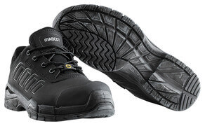 F0113-937-09 Safety Shoe - black