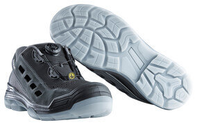 F0119-906-09888 Safety Sandal - black/anthracite