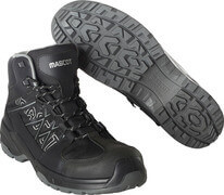 F0129-947-09 Safety Boot - black