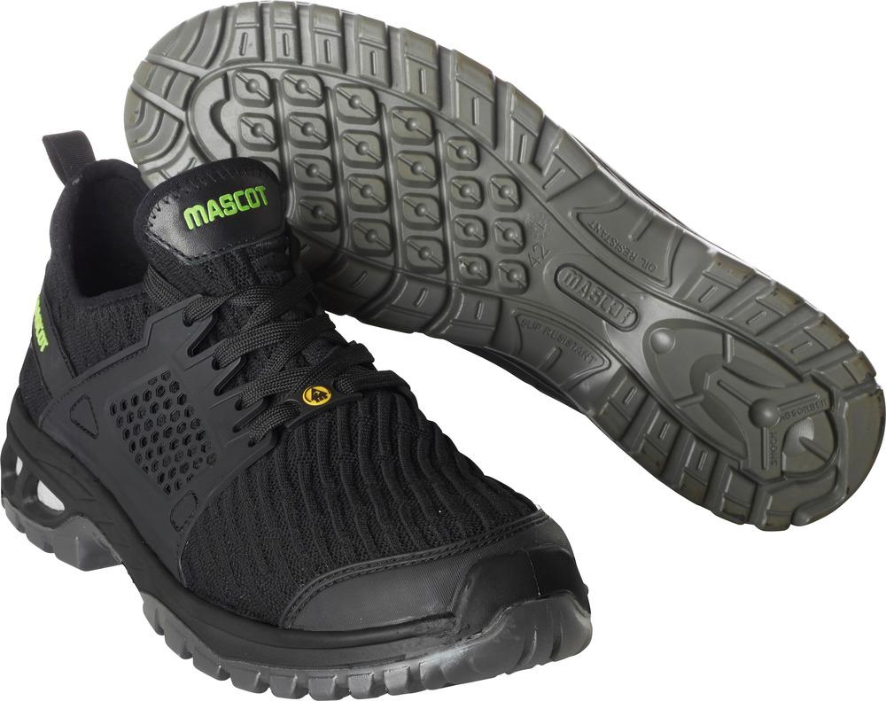 F0132-996-09 Safety Shoe - black