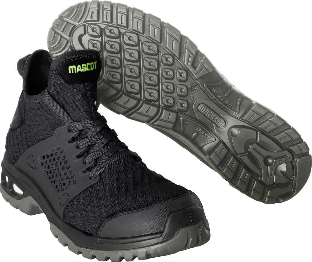 F0133-996-09 Safety Boot - black
