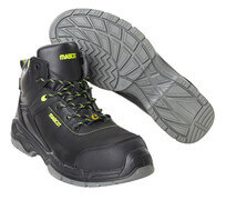 F0143-902-09 Safety Shoes (high) - black
