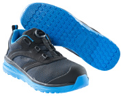 F0251-909-0911 Safety Shoe - Black/royal